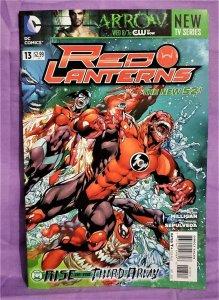 Peter Milligan RED LANTERNS #13 Miguel Sepulveda (DC, 2012)!