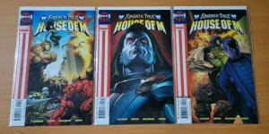 Fantastic Four House Of M 1-3 Complete Set Run! ~ NEAR MINT NM ~ 2005 Marvel
