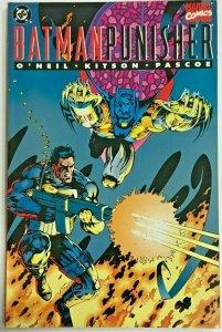 BATMAN & PUNISHER#1 VF 1994  MARVEL/DC COMICS
