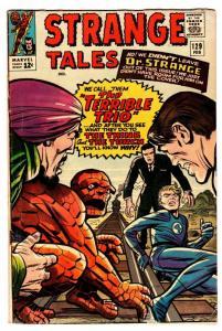 Strange Tales #129 comic book 1965- Human Torch- Thing-Dr Strange Ditko