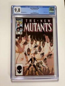New Mutants 28 Cgc 9.8 White Pages Marvel X-men Copper Age