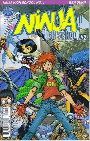 Antarctic Press NINJA HIGH SCHOOL VERSION 2 #1 VF