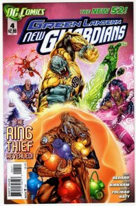 GREEN LANTERN New Guardians #4 (VF+) *$3.99 Unlimited Shipping!*