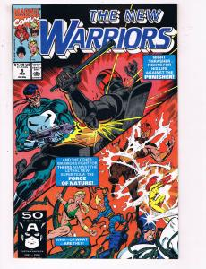 The New Warriors #8 VF Marvel Comics Comic Book Feb 1991 DE24