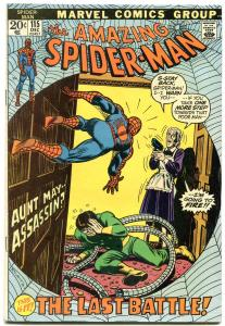 Amazing Spider-Man #115 1972-DOCTOR OCTOPUS- Aunt May F/VF