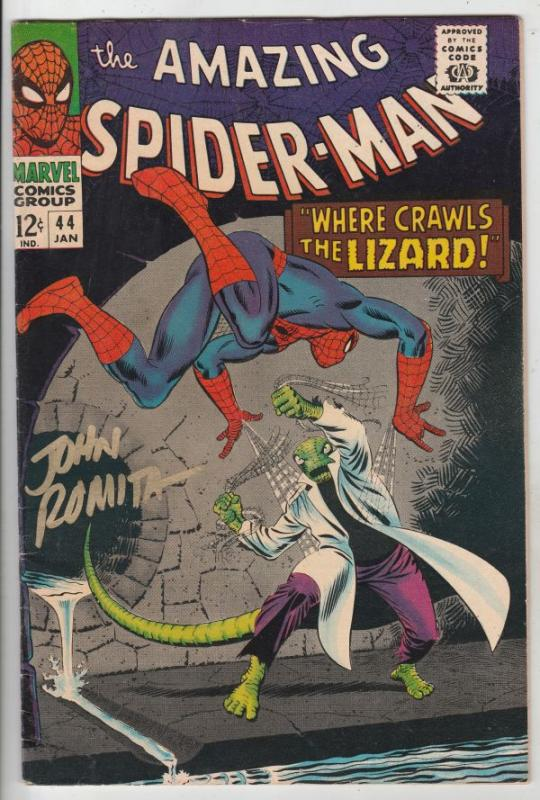 Amazing Spider-Man Signed #44 (Jan-67) VF/NM High-Grade Spider-Man