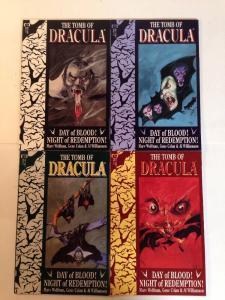 The Tomb Of Dracula 1-4 Complete Near Mint Lot Set Run
