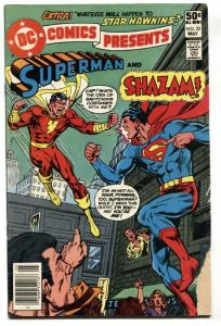 DC Comics Presents #33 comic book - SHAZAM / SUPERMAN 1981