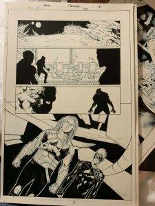 Teen Titans 23 (2013) page 8 Original art  Robson Rocha//Wayne Faucher