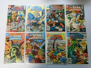All Star Squadron From:#1-67, 29 Different Average 7.0 (Range 6.0-8.0) (1981-87)