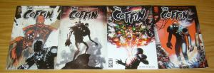 the Coffin #1-4 VF/NM complete series - phil hester comics oni press set lot 2 3