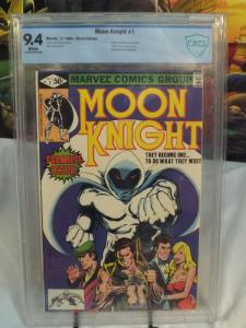 Moon Knight #1 (1980) - CBCS 9.4 - 1st Bushman and Moon Knight Titled Comic