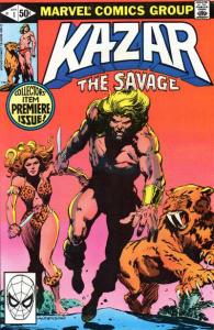 Ka-Zar the Savage #1, VF+ (Stock photo)