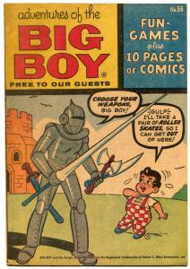 Adventures Of The Big Boy #56 1961- Michigan edition F/VF