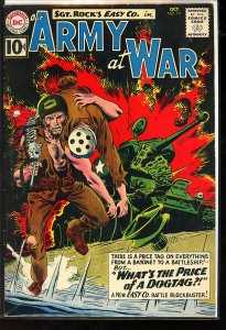 Our Army at War #111 (1961) Intro of Wee Willy and Sunny
