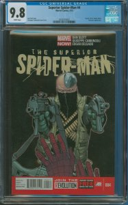 Surperior Spider-Man #4 CGC Graded 9.8 Death of Dr. Ashley