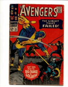 Avengers # 35 VG/FN Marvel Comic Book Hulk Thor Iron Man Captain America BJ1