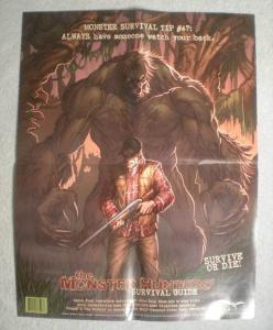 MONSTER HUNTERS' SURVIVAL GUIDE Promo Poster,  Unused, more in our store