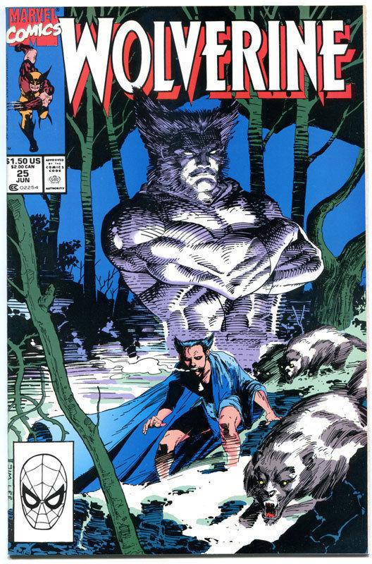 WOLVERINE #25, NM+, Jim Lee, 1988,  X-men, Buscema, more in store