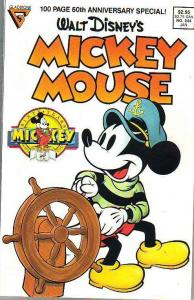 Mickey Mouse, Walt Disney's #244 (Jan-89) NM Super-High-Grade Mickey Mouse, G...