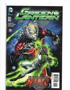 GREEN LANTERN  (2011 Series)  (DC NEW52) #43    nw120