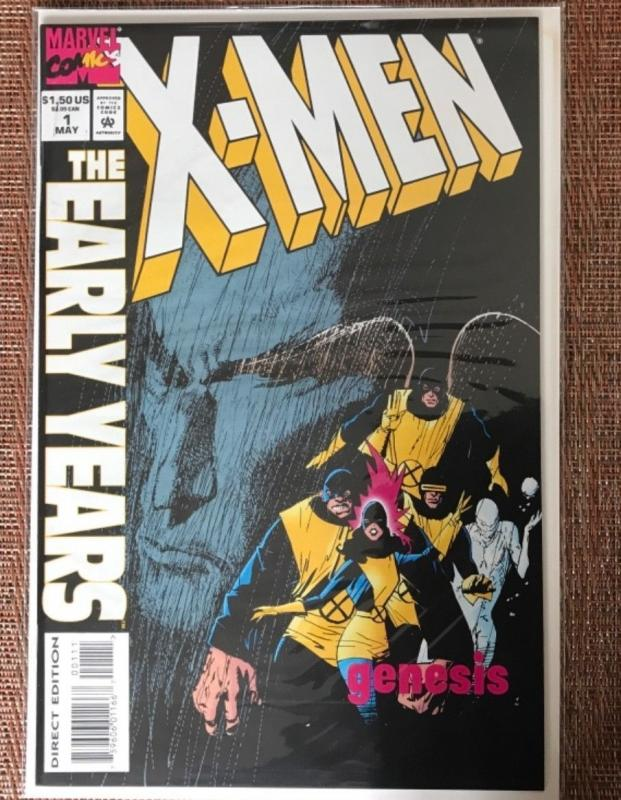 X-Men: The Early Years #1 (May 1994, Marvel) ICEMAN CYCLOPS BEAST GENESIS