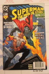 Superman the Man of Steel 98 NM