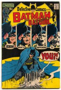 Detective Comics #408 1971- Neal Adams- BATMAN VG