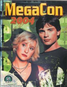 MegaCon Program Book 2004-Allison Mack-cover-guest & artist bios-VF/NM