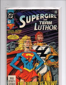 DC Comics Supergirl / Lex Luthor Special #1 Roger Stern Story Jackson Guice Art
