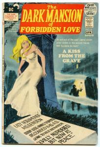 Dark Mansion of Forbidden Love 4 Apr 1972 VG+ (4.5)