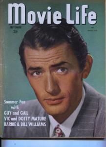 Movie Life-Gregory Peck-Ann Blyth-Ava Gardner-Perry Como-Sept-1948