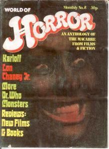 WORLD OF HORROR (1970S DALLRUTH)   8 G