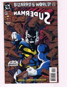 Superman #87 VF DC Bizarro's World Comic Book Jurgens DE10