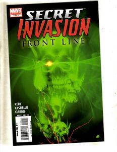 8 Marvel Comics Secret Invasion 1 2 3 4 5 + Requiem 1 Do You Trust + Saga 1 CJ3