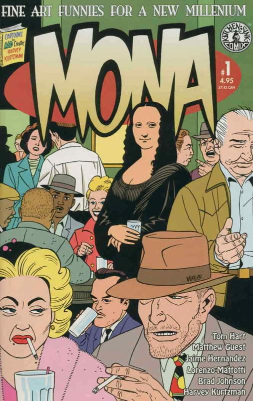 Mona #1 VF/NM; Kitchen Sink | save on shipping - details inside