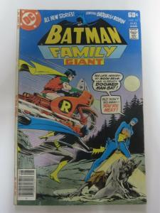 BATMAN FAMILY 12 VG AUGUST 1977 MANBAT!