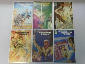 The Elsewhere Prince set #1-6 8.0 VF (1990)