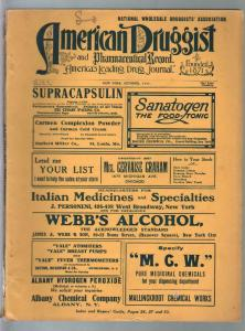 American Druggist 10/1911-drug store info-unique features-ads-VG
