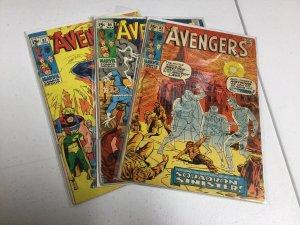 Avengers 85 86 87 Vg Very Good 4.0 Marvel Comics