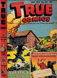 True Comics 62 VG-  (July 1947)