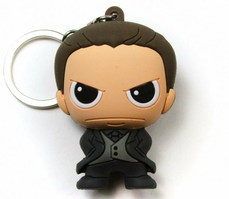 Batman v Superman BVS Bruce Wayne Laser Cut Key Ring / Keychain - New!