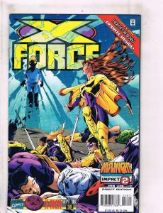 Lot of 7 X-Force Marvel Comic Books #58 59 60 61 62 63 64 DC4