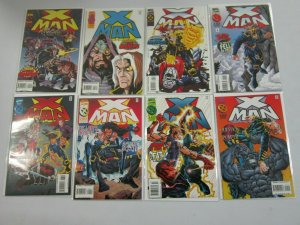 X-Man Comic Lot #2 - 49 (45 DIFF) - 9.0 NM (1995 - 1999)