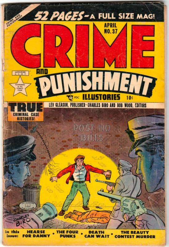 Crime and Punishment #37 (Apr-42) VG+ Affordable-Grade