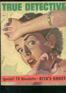 TRUE DETECTIVE PULP-JULY 1953-GOOD GIRL ART-DL CHAMPION VG