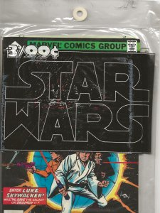 Star Wars #1 1977 - Whitmanreprints -sealed in poly bag -Never opened Issues 1-3