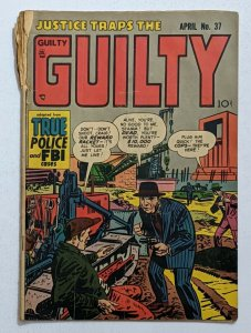 Justice Traps The Guilty #37 (Apr 1952, Prize) Good- 1.8
