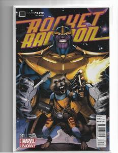 ROCKET RACCOON #1 - NM - LOOT CRATE EXCLUSIVE VARIANT (Marvel 2014) SEALED BAG