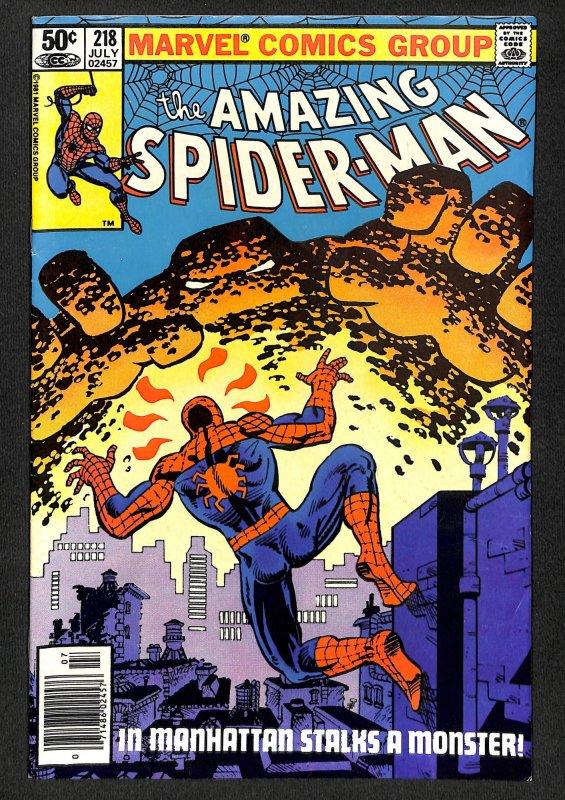 The Amazing Spider-Man #218 (1981)